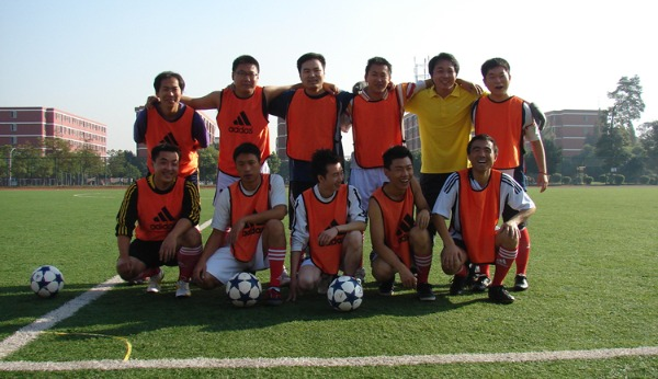 师生足球比赛