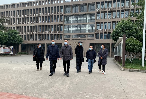 德阳市教育局防控督查指导组检查指导学院疫情防控工作