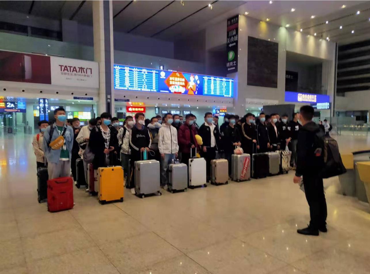 踏向新征程,迎接新挑战 --四川省贸易学校2018级第二批学生赴厦门宏发顶岗实习